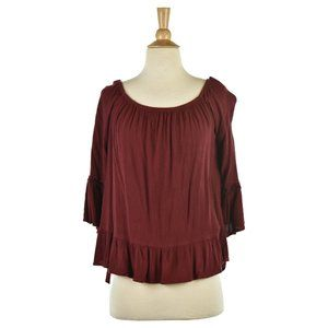 Mossimo Supply Co. Blouses MED Red